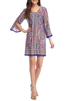Melissa Paige Rhapsody 3/4 Sleeve Dress