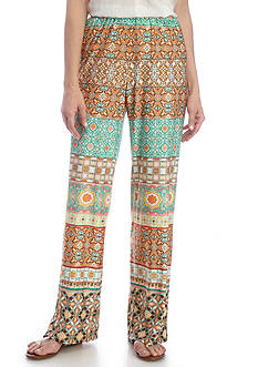 Melissa Paige Medallion Stripe Soft Pants