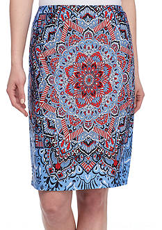 Melissa Paige Pomona Paisley Skirt
