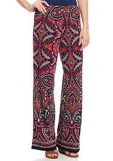 Melissa Paige Soft Paisley Pants