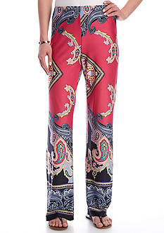 Melissa Paige Grand Paisley Printed Soft Pant