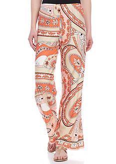 Melissa Paige Paisley Print Soft Pant