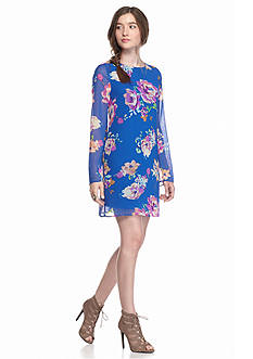 Everly Floral Swing Dress