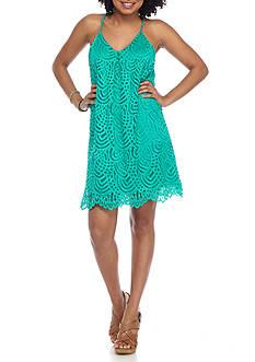 Everly Lace Scallop Edge Dress
