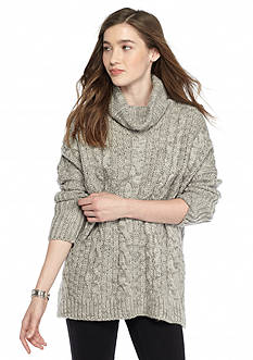 Everly Oversized Cowl Neck Sweater