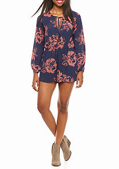 Everly Floral Romper