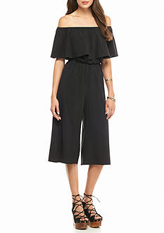 Everly Off-the-Shoulder Culotte Jumpsuit