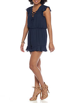 Everly Ruffle Romper