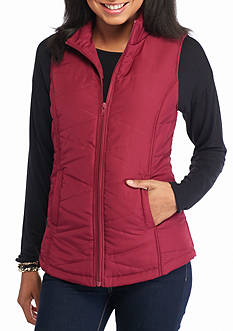 Red Camel Puffer Vest