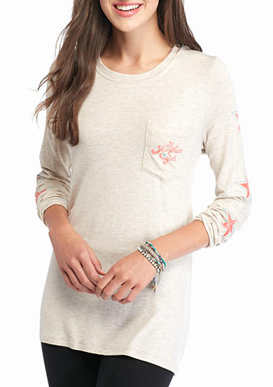 Red Camel® All American Girl Pocket Tee