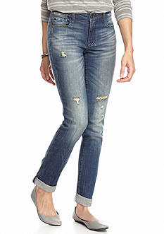 Suede Dillan Relaxed Skinny Jeans