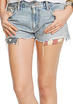 Denim & Supply Ralph Lauren Halsey Flag Boyfriend Short