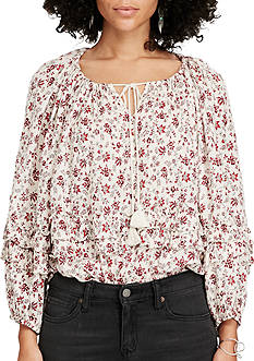 Denim & Supply Ralph Lauren Boho Off-the-Shoulder Blouse