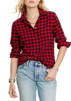 Denim & Supply Ralph Lauren Tomboy Plaid Button Down Shirt