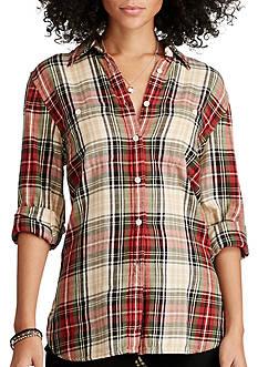 Denim & Supply Ralph Lauren Samson Plaid Utility Shirt