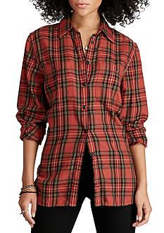 Denim & Supply Ralph Lauren Montgomery Plaid Utility Shirt