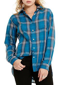Denim & Supply Ralph Lauren RL Boyfriend Plaid Shirt