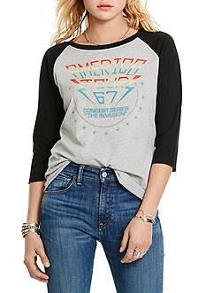 Denim & Supply Ralph Lauren Graphic Raglan Shirt