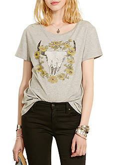 Denim & Supply Ralph Lauren Drapey Steer Head Graphic Tee