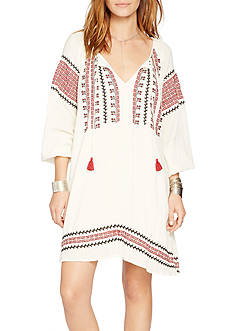 Denim & Supply Ralph Lauren Embroidered Gauze Dress