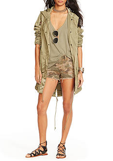 Denim & Supply Ralph Lauren Fish-Tail Military Jacket