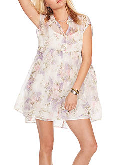 Denim & Supply Ralph Lauren Floral Empire-Waist Shirtdress