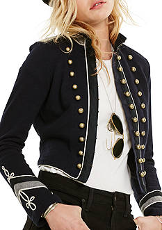 Denim & Supply Ralph Lauren French Terry Military Jacket