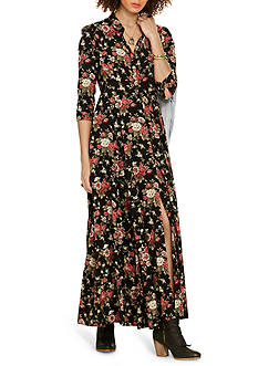 Denim & Supply Ralph Lauren Floral Print Maxi Dress