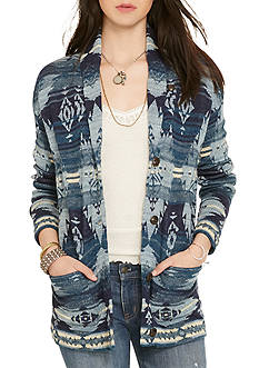 Denim & Supply Ralph Lauren Shawl Boyfriend Sweater