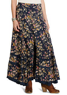 Denim & Supply Ralph Lauren Button Front Maxi Skirt