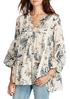 Denim & Supply Ralph Lauren Lorrie Floral-Print Gauze Tunic