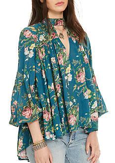 Denim & Supply Ralph Lauren Floral-Print Poet Blouse