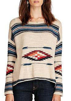 Denim & Supply Ralph Lauren Southwestern Cotton Sweater
