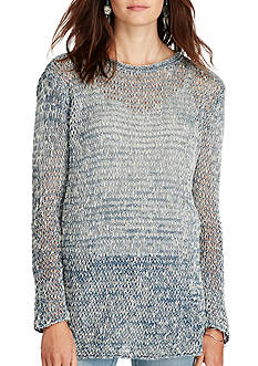 Denim & Supply Ralph Lauren Knit Cotton-Linen Sweater