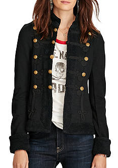 Denim & Supply Ralph Lauren Long Sleeve Military Coat