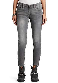 Denim & Supply Ralph Lauren Isla Zip Ankle Skinny Jeans