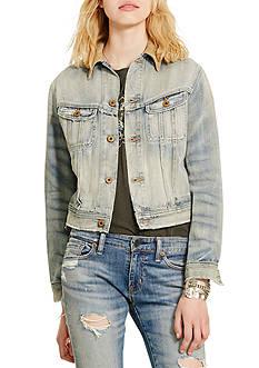 Denim & Supply Ralph Lauren Webster Cropped Denim Jacket