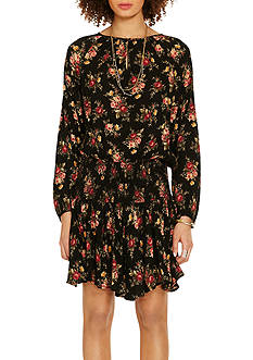 Denim & Supply Ralph Lauren Floral Print Drop-Waist Dress