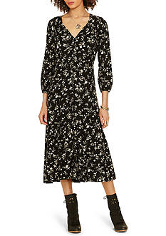 Denim & Supply Ralph Lauren Etienne Floral Midi Dress