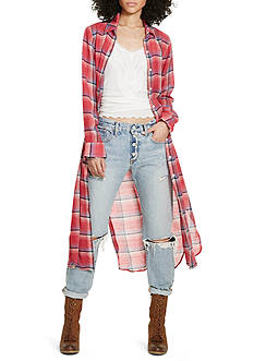 Denim & Supply Ralph Lauren Plaid Long Tunic