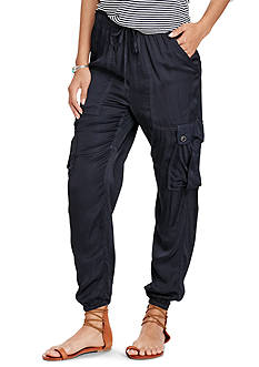 Denim & Supply Ralph Lauren Satin Cargo Jogger