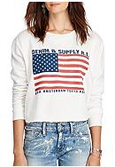 Denim & Supply Ralph Lauren Cropped Fleece