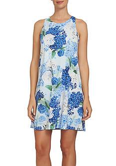 CeCe Hydrangea Halter Dress