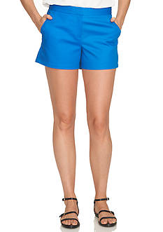 CeCe Solid Double Weave Shorts