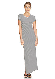 CeCe Stripe Knit Maxi Dress
