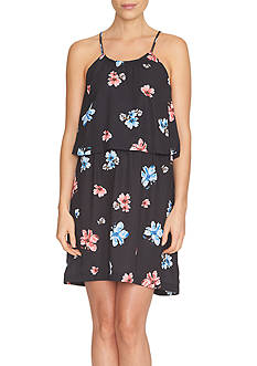 CeCe Floral Delight Popover Dress