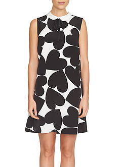 CeCe Sleeveless Playful Hearts Dress