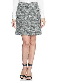 CeCe Stretch Tweed Skirt