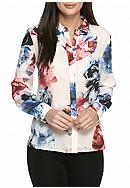 CeCe Bouquet Dream Blouse