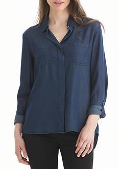Nine West Jeans Rachelle Split Back